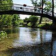 Bridge over river near Daglan (on bike ride)