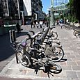 Rental bike system in Paris