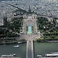 Trocadero from Eiffel Tower