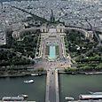 Trocadero from Eiffel Tower