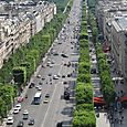 Champs Elysee from Arc de Triumphe