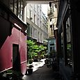 The inner courtyard of our Paris HQ