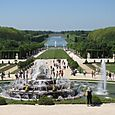 Versaille - view to grand canal
