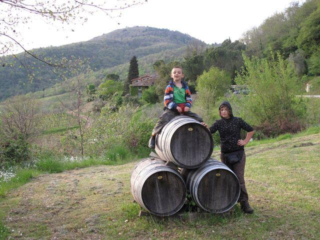 Roll out the barells @ Antico Borgo di Sugame