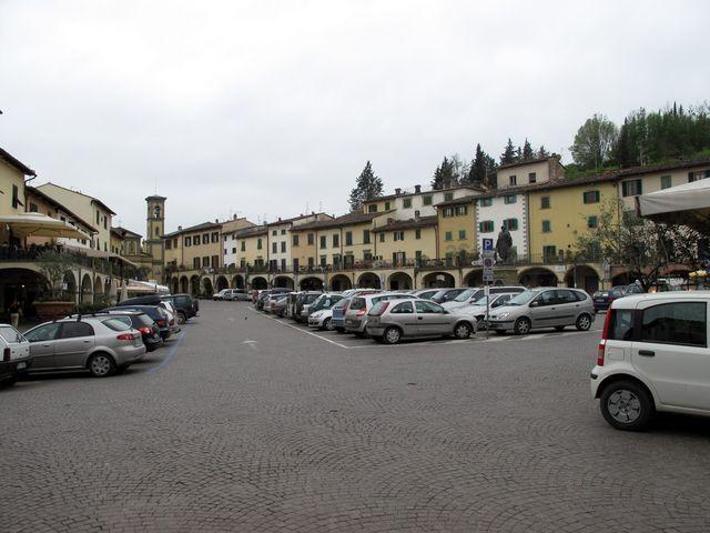 Greve in Chianti - main square