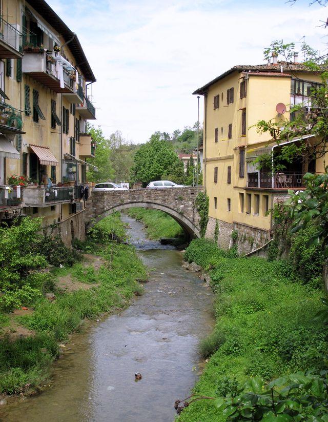 Greve in Chianti - river scene