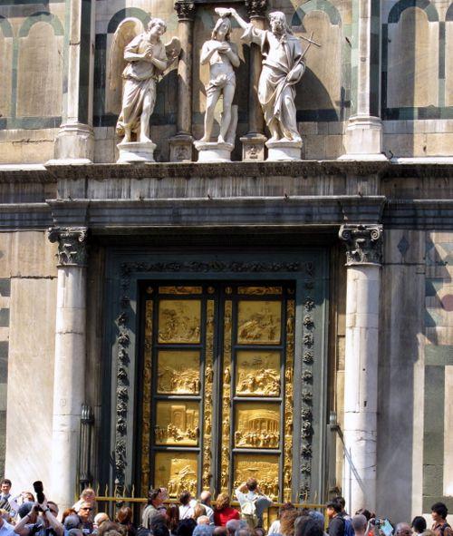 East Doors of the Bapistry by Ghiberti