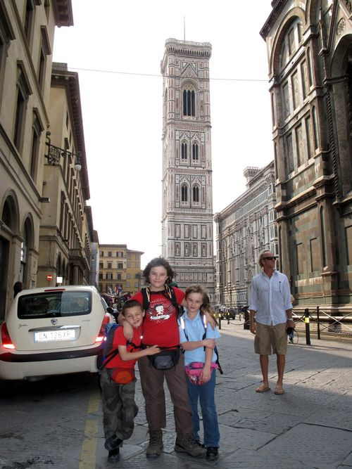 The conquerers and the conquered bell tower