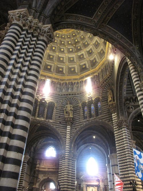 Inside Siena's Duomo (Cathedral)