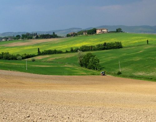 North of Siena - a slice of beautiful Tuscany