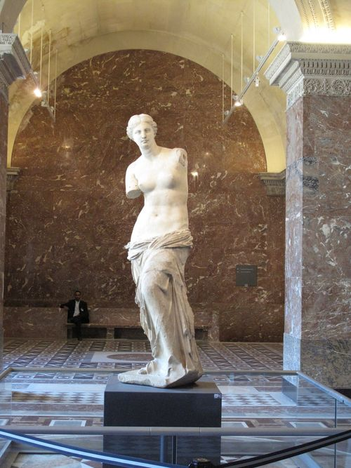 Venus De Milo - we arrived early and had her all to ourselves