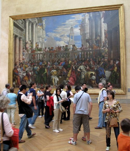 The Wedding at Cana (Veronese) in Louvre