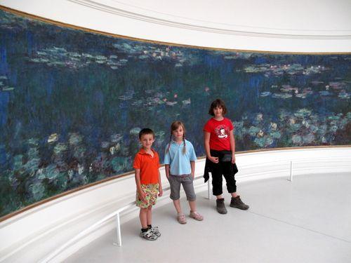 Monet's Water Lilies in The Orangerie