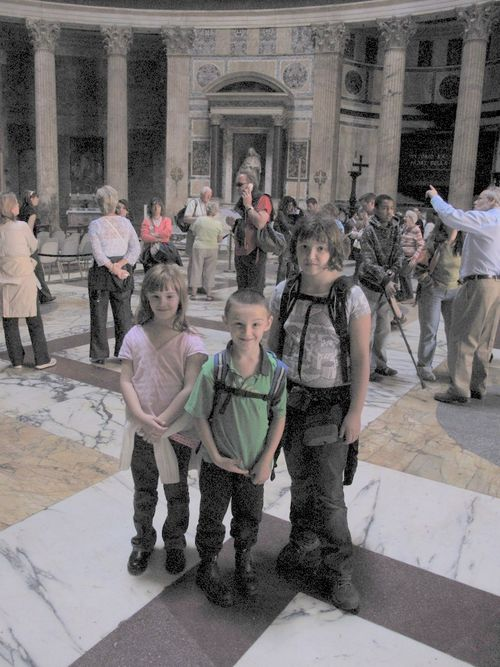 Inside Pantheon - incredible building