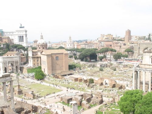 So much history, so little time - Roman Forum
