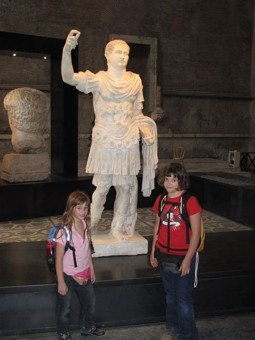 Gotta keep those Roman men away from my daughters!