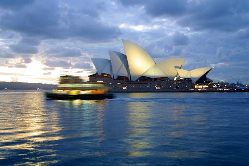 Sydney Harbour and the Sydney Opera House