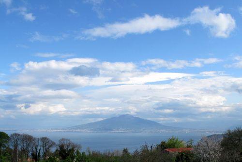 Vesuvius and the Gulf of Napoli