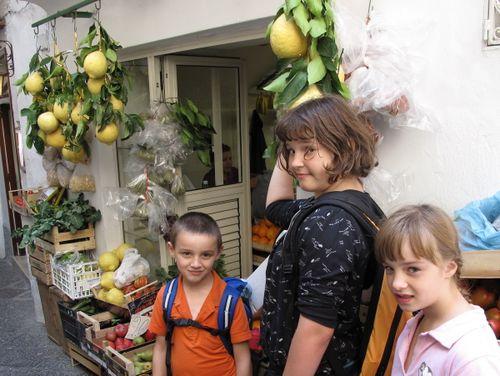 Kids vs Giant Lemons