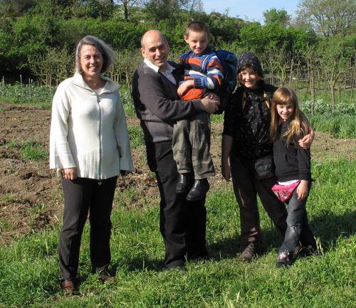 Hostess Vittoria, Mario and our kids