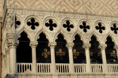 Details in Ducal Palace, Venice