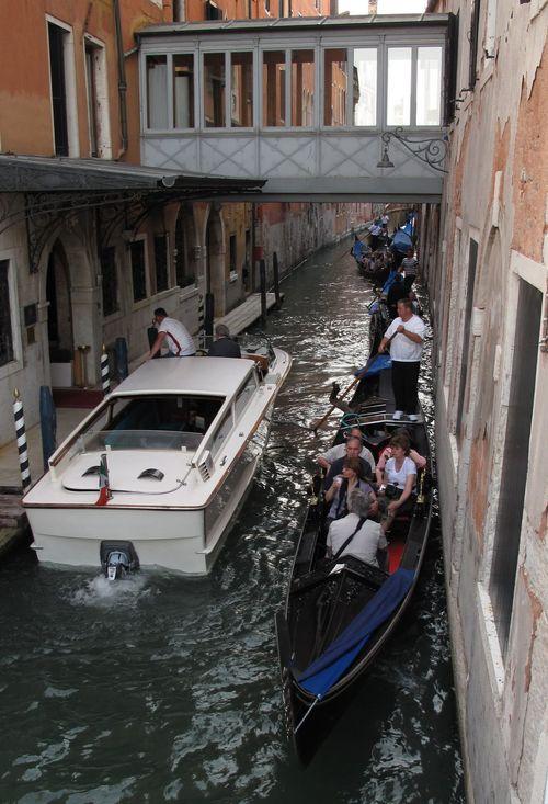 Traffic jam - Venice Style